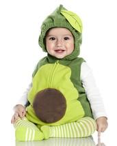 Carters Avocado Halloween Costume Size 12 Months Boy or Girl 3 Piece Set - £31.69 GBP