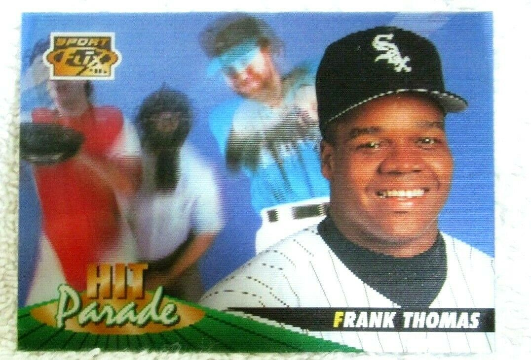 Primary image for FRANK THOMAS 1996 PINNACLE SPORT FLIX HIT PARADE CARD#7 PSA10?WHITE SOX 1B HOF