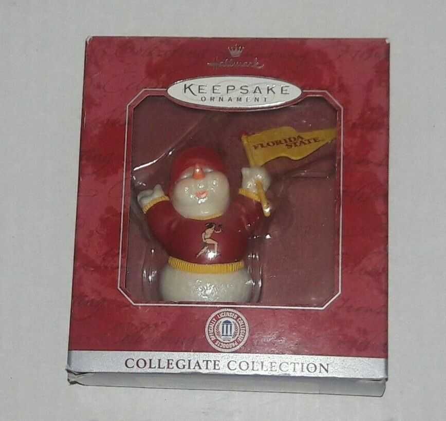Florida State Seminoles Christmas Ornament Hallmark Keepsake Collegiate FSU NEW image 4