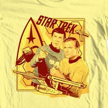 Star Trek T shirt Kirk  Spock Free Shipping original crew 100% cotton CBS745 image 1