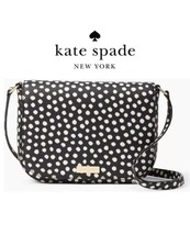 NEW KATE SPADE Laurel Way Large Carsen Musical Dot Crossbody Bag WKRU451... - $96.74