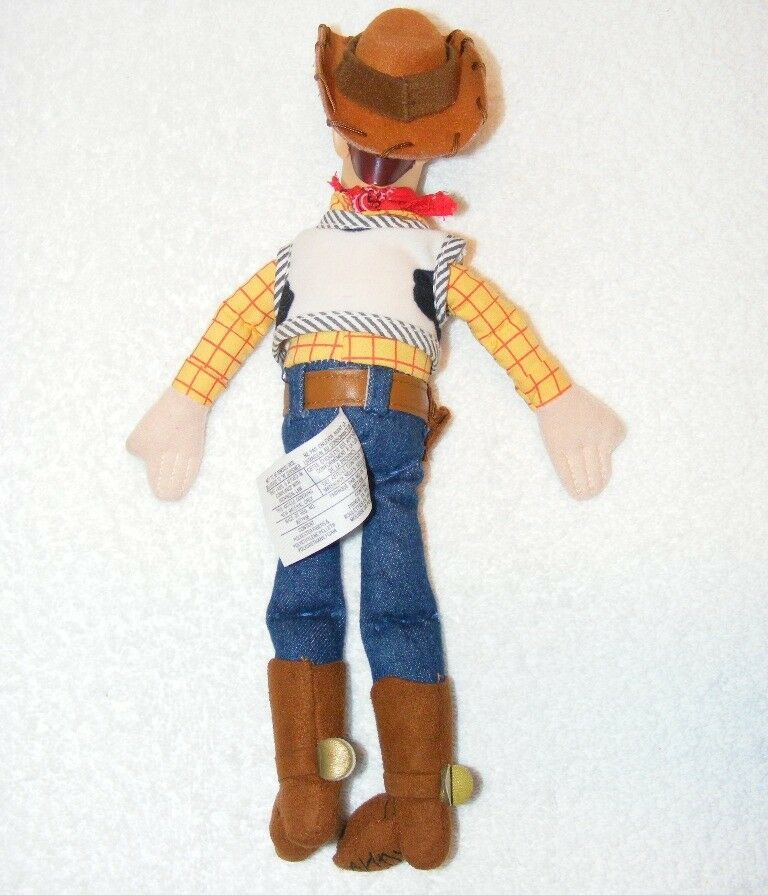 "DISNEY PIXAR TOY STORY ""WOODY"" PLUSH 12"" DOLL GUC"
