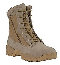 """Mens Motorcycle 9"""" Leather Nylon Lace front Tactical boot (mbm9111) - $79.99"""
