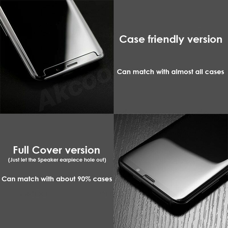 2019 UV Liquid Glass Samsung Galaxy Note 8 Screen Protector Case Friendly Film 9 image 7