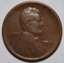 1922 WEAK D LINCOLN PENNY CENT COIN LOT# EA 174