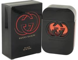 Gucci Guilty Black 2.5 Oz Eau De Toilette Spray image 4