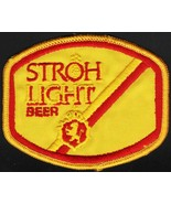 Vintage uniform patch STROH LIGHT BEER lion crest unused new old stock n... - $6.99