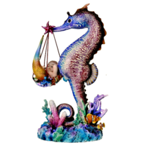 Pacific Giftware Sheila Wolk Mermaid Collection Mer Birther Seahorse Mer... - $59.39