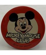 "Mickey Mouse Club Disney Original Vintage Pin Button Pinback WDP 3-1/2"" - $9.45"