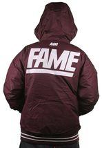 Hall of Fame 2ND Second Sucks Sideline Burgundy Hooded Parka Jacket NWT image 5