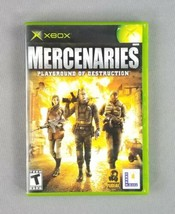 Mercenaries: Playground of Destruction (Microsoft Xbox, 2005) Complete w... - $9.89