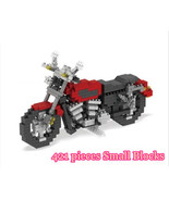 Particles Small Blocks Red Motorcycle 421 Pieces Blocks - $17.98