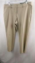 NEW Womens Nike Golf Khaki Cropped Pants 725712-235 Size 4 - $33.24