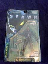 Spawn Movie Action Figure Born in Darkness Sworn to Justice Missile Laun... - $10.88