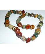 """Beautiful Australian Picasso Marble Beads - Approx 1/2"""" each - 40 Rock B... - $17.81"""