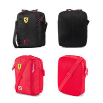 Puma Scuderia Ferrari Fanwear Logo Portable Unisex Flight Travel Shoulder Bag