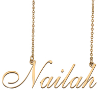 Nailah Custom Name Necklace Personalized for Mother's Day Christmas Gift - $15.99+