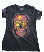 Grunt Style Women's T Shirt SKULL CANDY large American Military NWOT New - $16.86