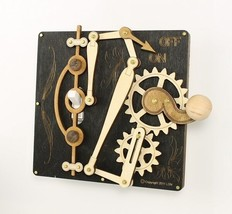 Green Tree Jewelry Single Lever Black Wood Light Switch Plate Cover - $34.99
