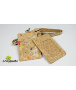 EcoQuote Lanyard with Badge Holder Handmade Cork Material Eco Friendly f... - $17.80
