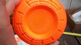 White Flyer Clay Target - Bio 2000 Vandalia Ohio - $3.96