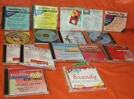 16 Assorted Karaoke Northstar Pop, Chartbuster, Hits, Music CD's  - $89.09