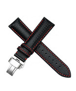 21mm Replacemen Leather Watch Bands Strap For BAUME MERCIER CAPELAND 100... - $37.39