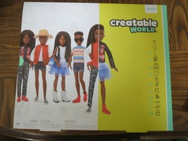 Creatable World™ Deluxe Character Kit Customizable Doll, Black Braided Hair - $40.00