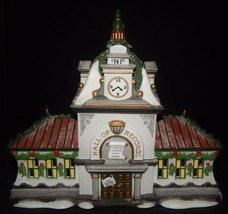 Dept 56 Hall of Records Holiday Lighted House Christmas North Pole Serie... - $44.54