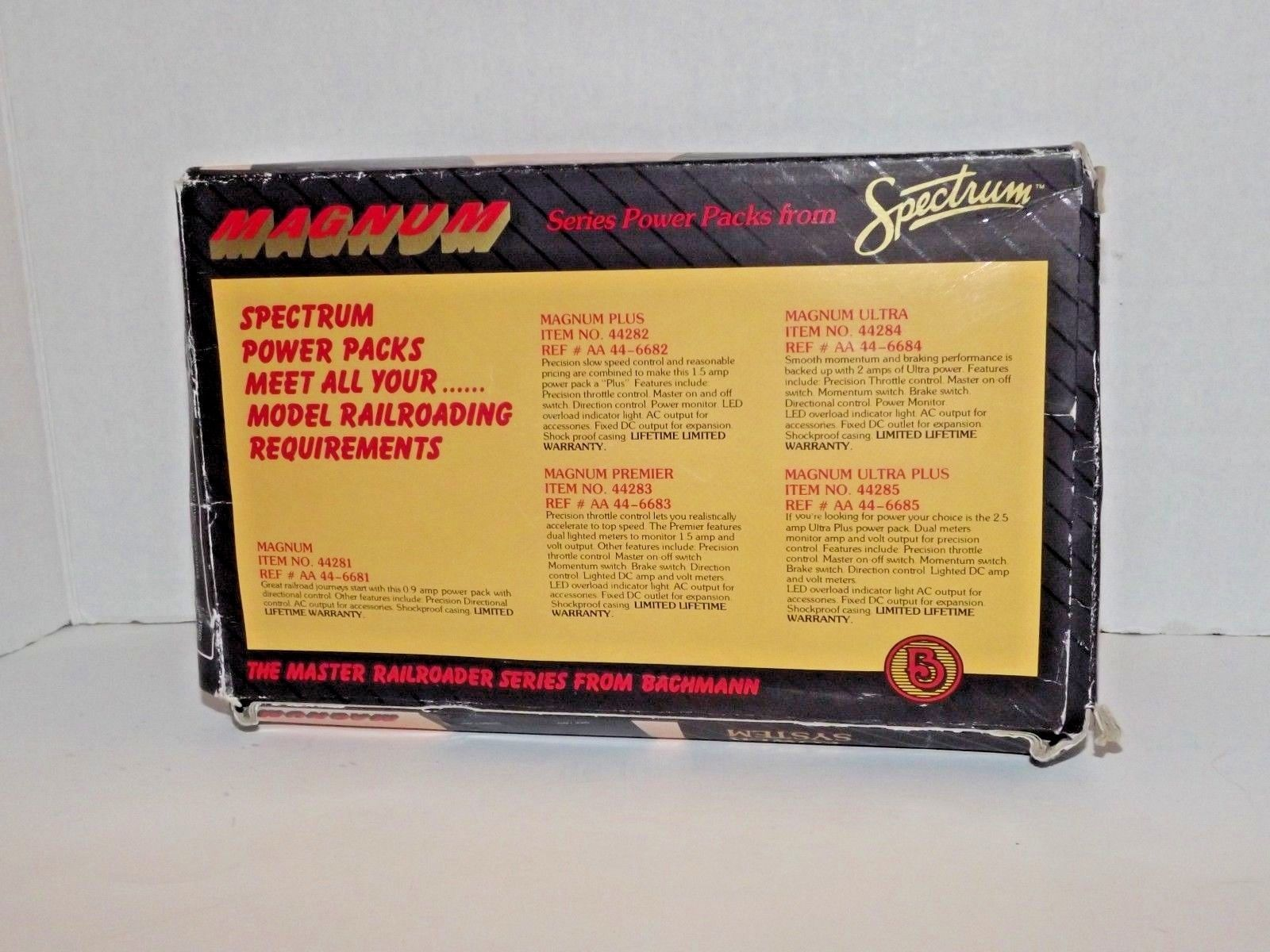 Spectrum Magnum Model Railroad Power System and 50 similar items