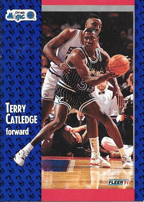 Terry Catledge ~ 1991-92 Fleer #144 ~ Magic