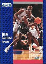 Terry Catledge ~ 1991-92 Fleer #144 ~ Magic - $0.05