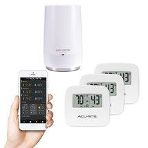 AcuRite 01152M 3-Sensor Indoor Temperature and Humidity Smart Home Envir... - $137.84
