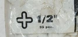 Superiorbilt 81P12B Tile Spacers One Half Inch 35 Count Cross Shape image 2