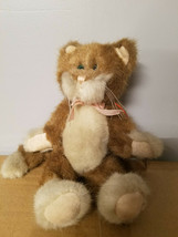 "Boyds Bears 9"" Plush Cat Jointed Brown/Cream - $5.99"