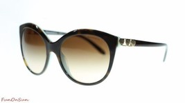 TIFFANY&CO Women's Sunglasses TF4133 82163B Havana Blue/Brown Gradient 56mm - $193.03