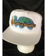 CMI Corp 30 Years Of Innovation White Strapback Hat Cap VTG Construction... - $12.86
