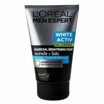 L'Oreal Paris Men Expert White Activ Charcoal Foam 100 ml original free ... - $18.32