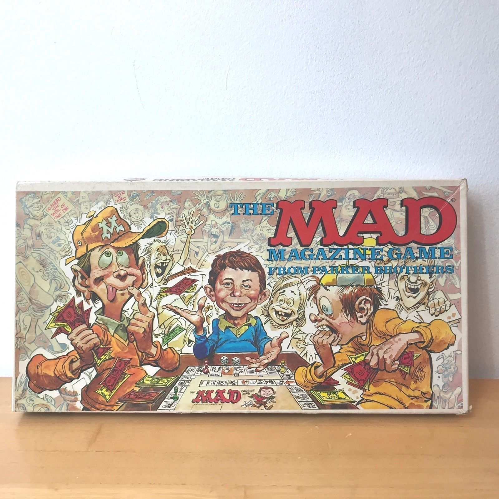 Vintage 1979 Parker Brothers Mad Magazine Board Game 124 Complete Very Good GM