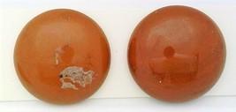 Red Jasper Gemstone Stud Earrings - $13.96