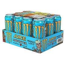 Monster Energy Juice -Mango Loco - 16fl.oz.(Pack of 12) - $40.58