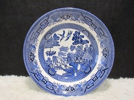 Churchill Made in Staffordshire England Beautiful Blue Willow Design Sal... - $8.95