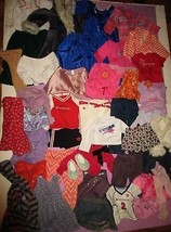 """American Girl Doll 18"""" Doll Clothes Skirt Coat Pants Shirt 40 Pc AUTHENT... - $130.00"""