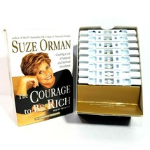 Suze Orman The Courage to Be Rich Audio Book Series 8 Cassette Tapes 14 ... - $11.87