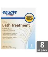 Equate Calming Bath Treatment Colloidal Oatmeal 8 Single Use Packets 8x ... - $11.64