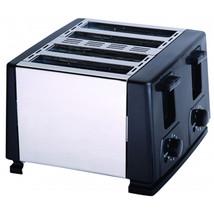 Brentwood 4 Slice Toaster (Black) - €42,17 EUR