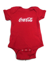 Coca-Cola Red Infant 6 Month Bodysuit One piece 100% Cotton - BRAND NEW - $12.38