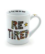 """Our Name is Mud """"Retired"""" Cuppa Doodle Porcelain Mug, 16 oz. - $12.23"""