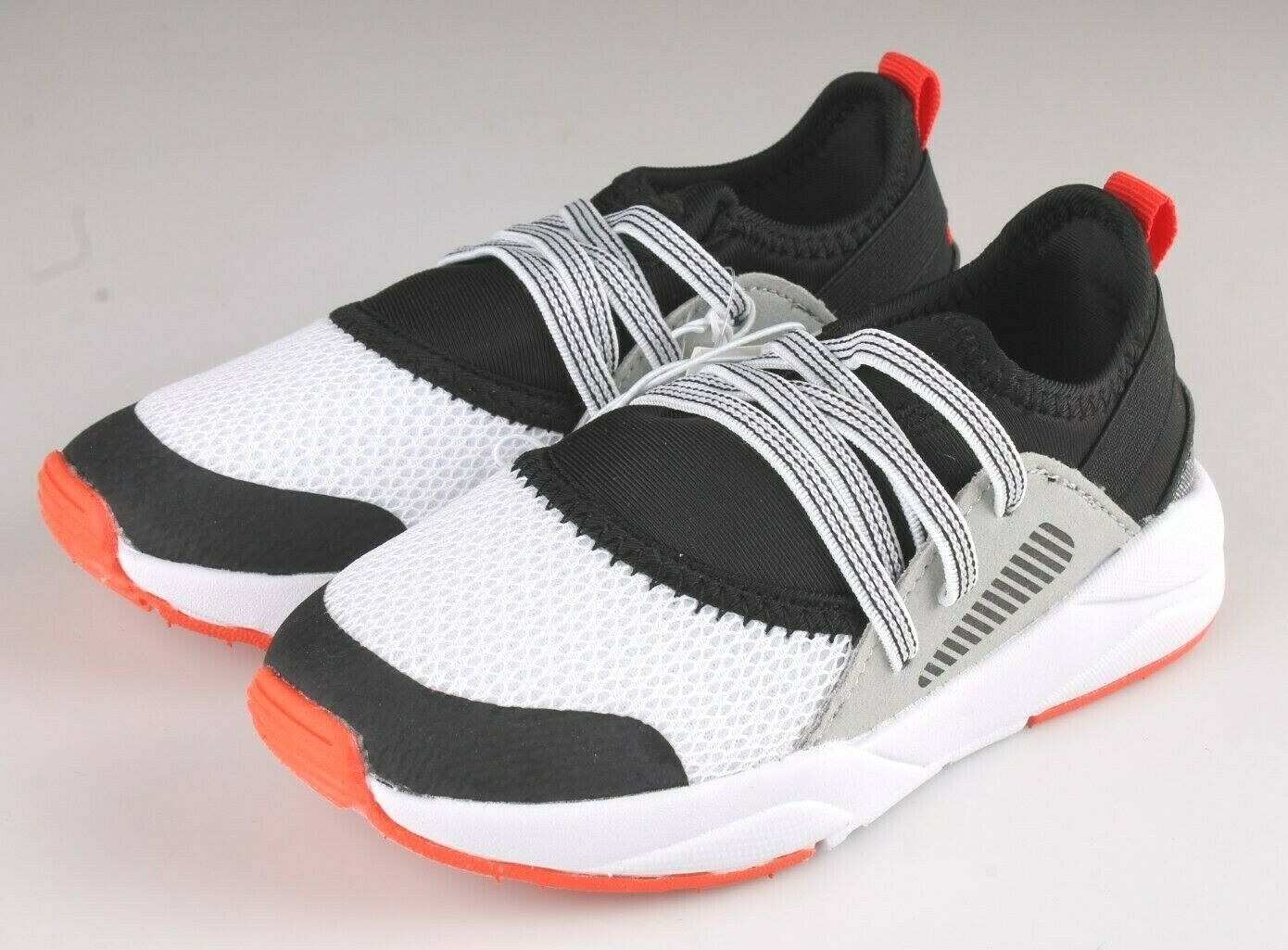 Cat & Jack Boys Toddler Black Mesh Red Keenan Slip-On Sneakers NWT