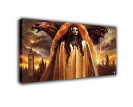 "Fantasy Art Oil Painting Print On Canvas Modern Decor Art ""Ma Gen"" Framed - $17.67+"
